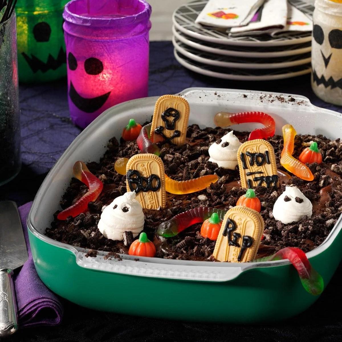Graveyard Cake Recipe
