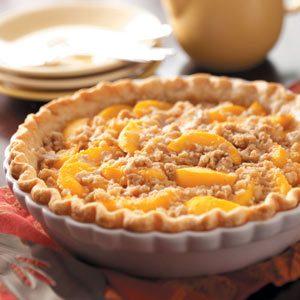 Mom's Peach Pie Recipe