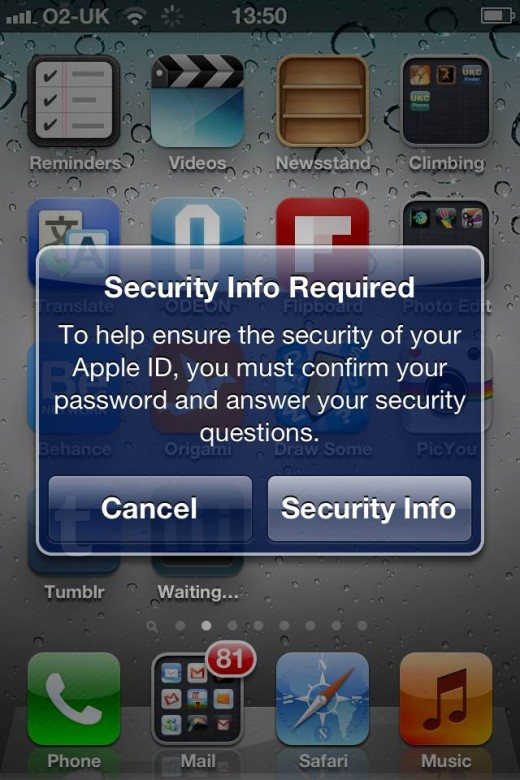 photo5 520x780 Apple enhances Apple ID account security in iTunes and on iOS devices, leaving users confused