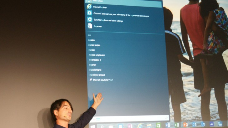 Microsoft 2014 43 730x409 Microsoft announces Windows 10, promises mid 2015 release and Windows Insider Program tomorrow