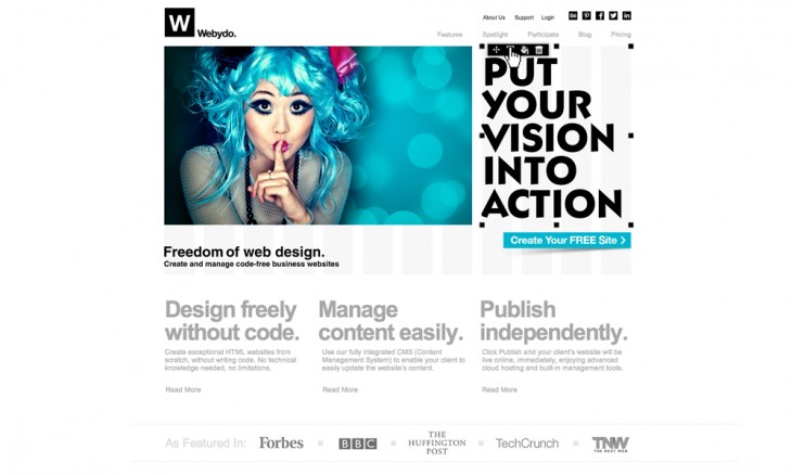 webydo 730x438 40 free resources every designer should know