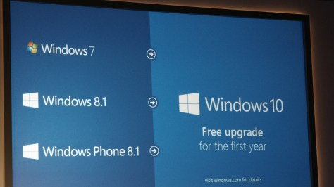 Windows 10 0121 34 Windows 10 will be a free upgrade for Windows 7, 8 and 8.1 users