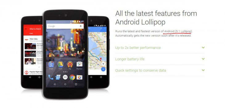 Android One Lollipop 51 more 730x353 Android Lollipop 5.1 will arrive first on Android One devices for emerging markets