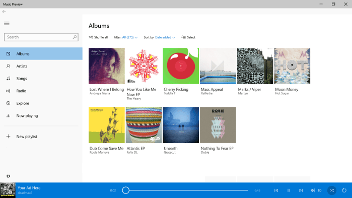 IDS MY MUSIC Microsoft releases new Music and Video apps for Windows 10 without the Xbox branding