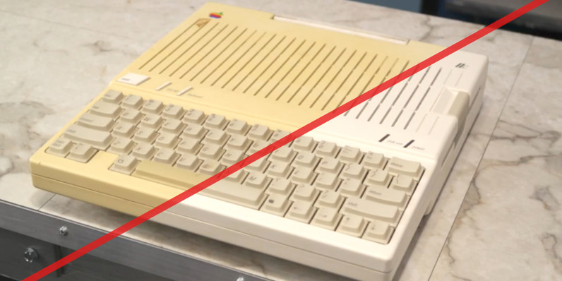 Watch this guy breathe new life into a 32-year-old Apple IIc
