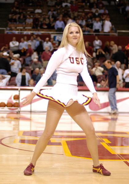 Cheerleader picture upskirt usc