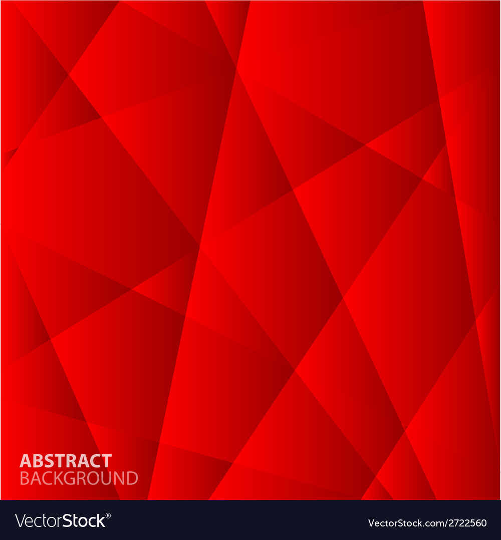 Abstract Red Geometric Background Royalty Free Vector Image Abstract Red Geometric Background vector image