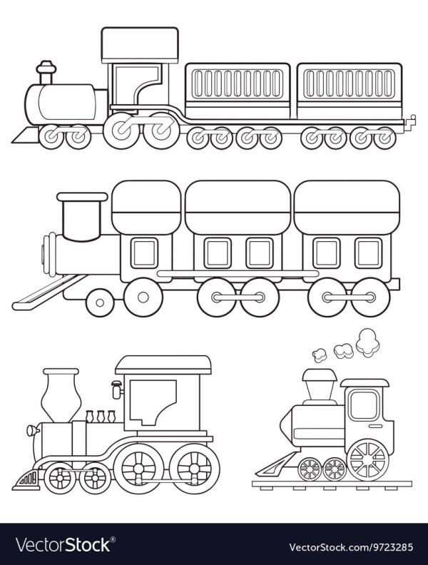 train coloring # 15