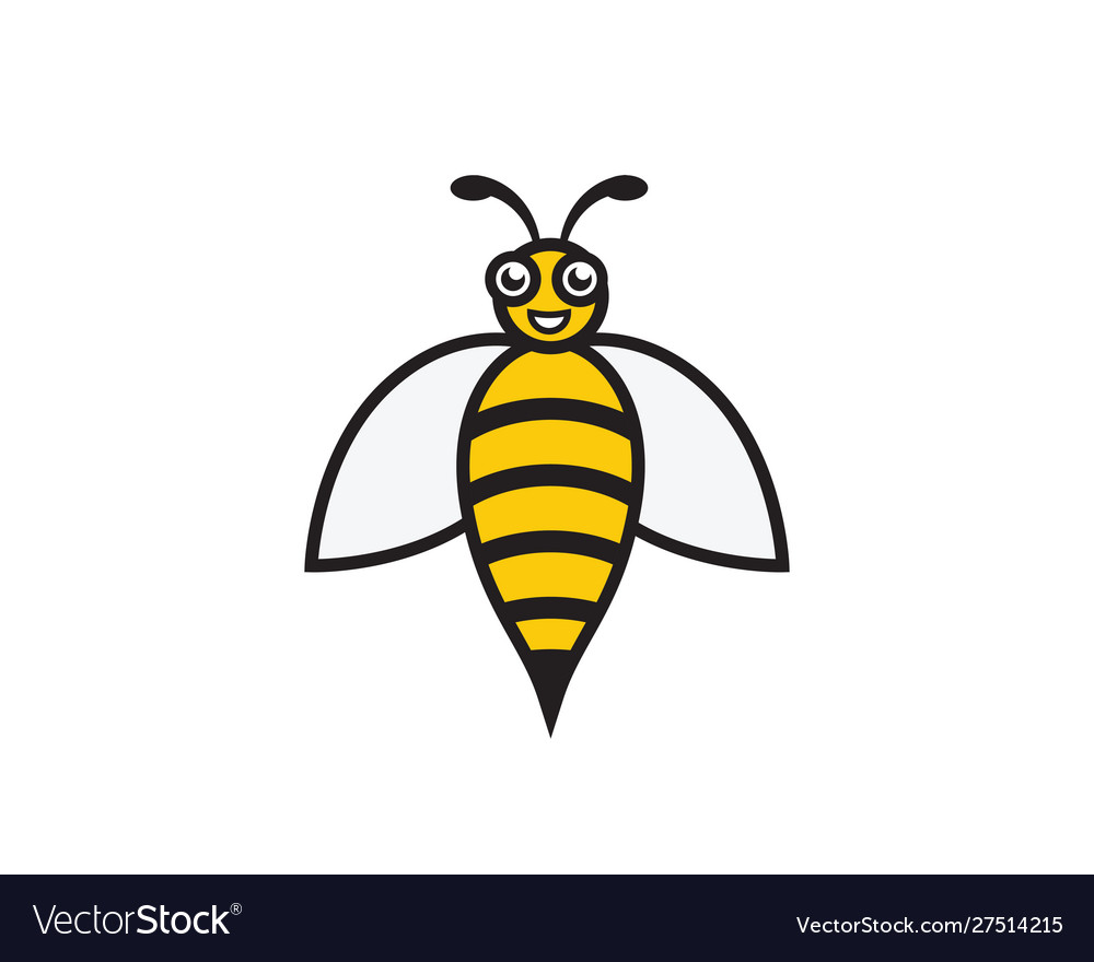 Ask for templates load more. Bee Logo Template Icon Royalty Free Vector Image
