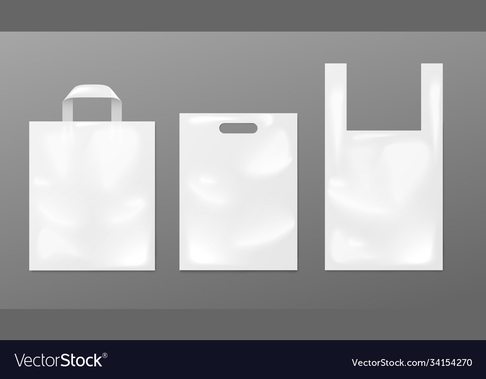 In this roundup, we are presenting free shopping bag mockups to present your. White Plastic Bag Mockup Set Different Shapes Of