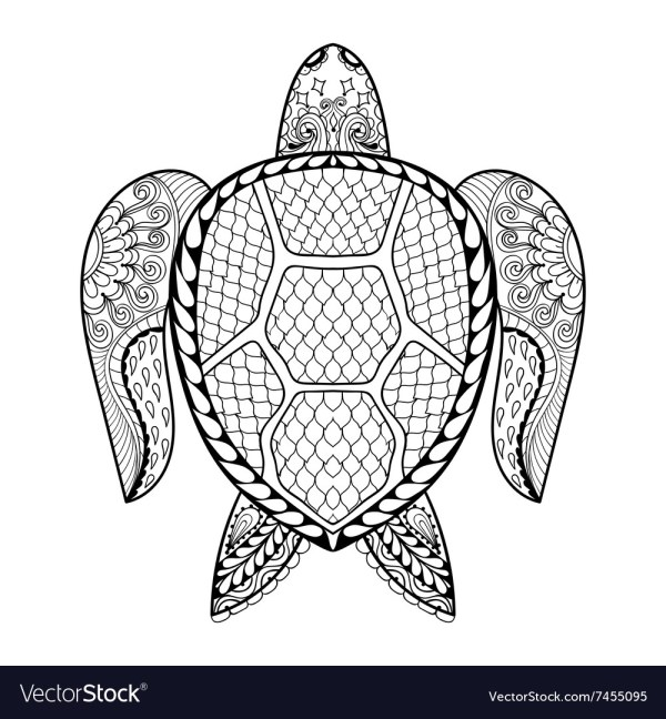 coloring pages turtle # 8