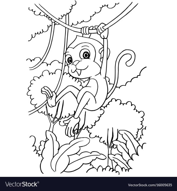 forest coloring page # 14