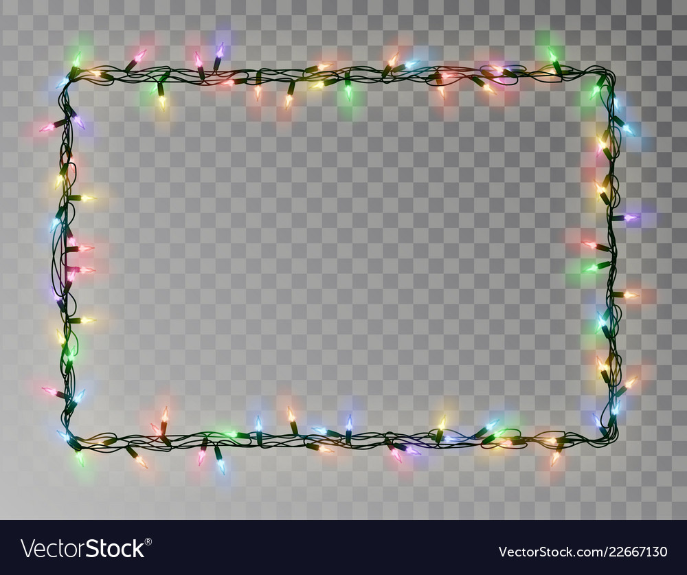 Frames Borders Lights And Christmas