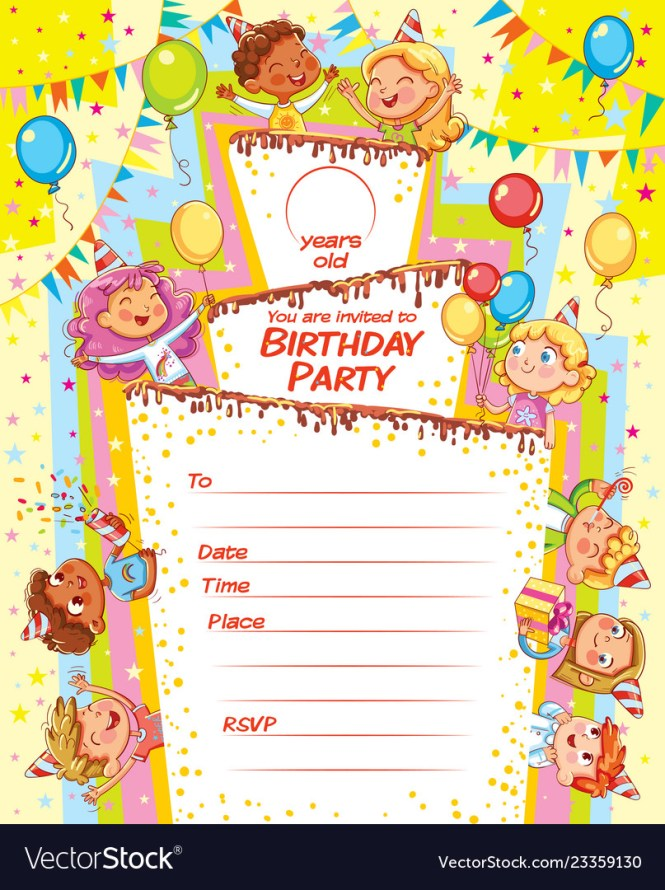 Birthday Party Royalty Free Vector