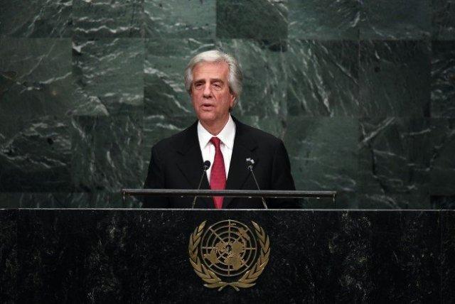 Der Präsident von Uruguay Tabare Vazquez wird zum Thema Tabakkontrolle sprechen