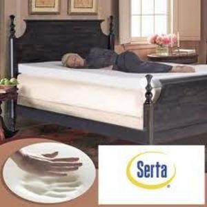 Serta Ultimate 4 Inch Memory Foam Mattress Topper