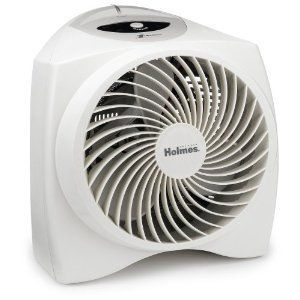 Holmes Portable Whisper Quiet Power Heater with 1Touch