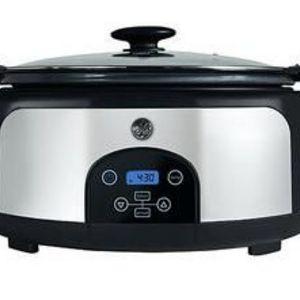 Ge 6 Quart Digital Slow Cooker 169200