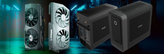 The Zotac RTX 3060 graphics cards should be available from mid-February.  The Zbox Magnus One even has space for an RTX-3070 card.