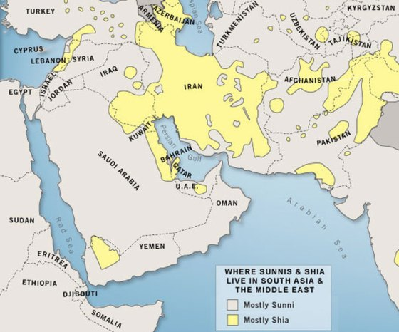 The Sunni-Shia Divide in the Middle East