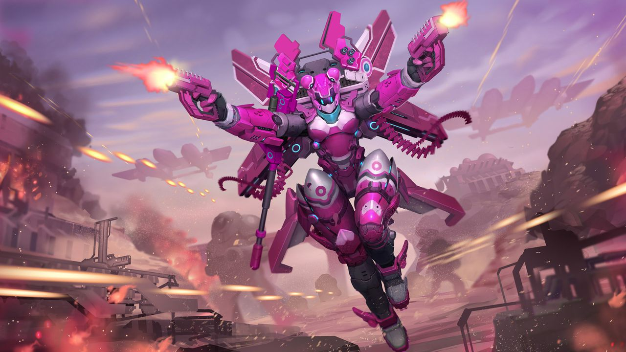 Action Strategy Game AirMech Arena Coming To PS4 Xbox One This Spring Polygon