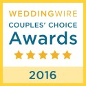 Islander Weddings, WeddingWire Couples' Choice Award Winner 2016