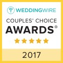 Next Level Entertainment, WeddingWire Couples' Choice Award Winner 2017