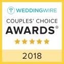 Legacy Events 119, WeddingWire Couples' Choice Award Winner 2018