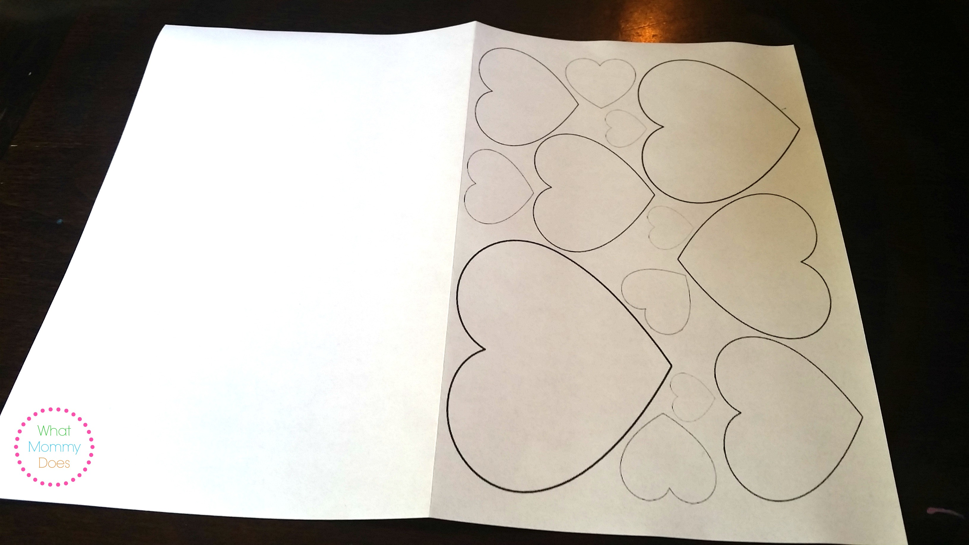 Free Printable Valentine S Day Card To Color