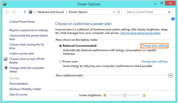 Unbekannter USB-Gerätefehler - Energieoptionen - 1 - Windows Wally