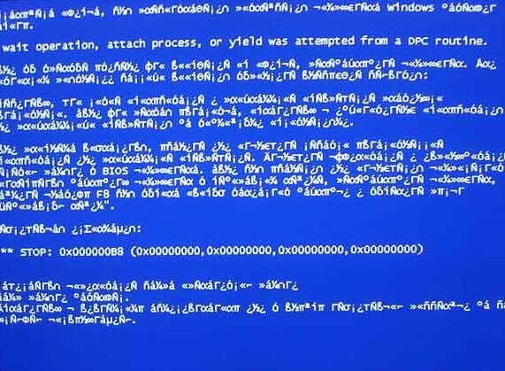 Попытка переключиться с dpc - STOP 0x100000B8 - BSoD - Cover - Windows Wally