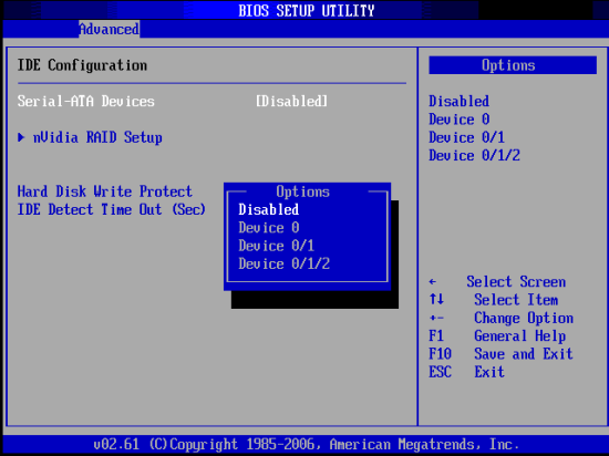 ЗАГРУЗКА В SAFEMODE DSREPAIR - BIOS - Отключить SATA - Windows Wally