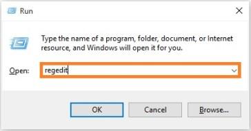 RuntimeBroker.exe - Windows 10 - Windows Key R - regedit - Windows Wally