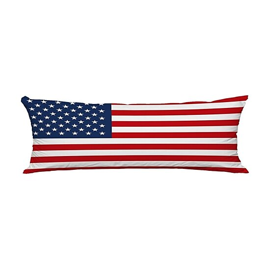 united states of america flag body pillow covers pillow case protector pillowcase 20x60 inch