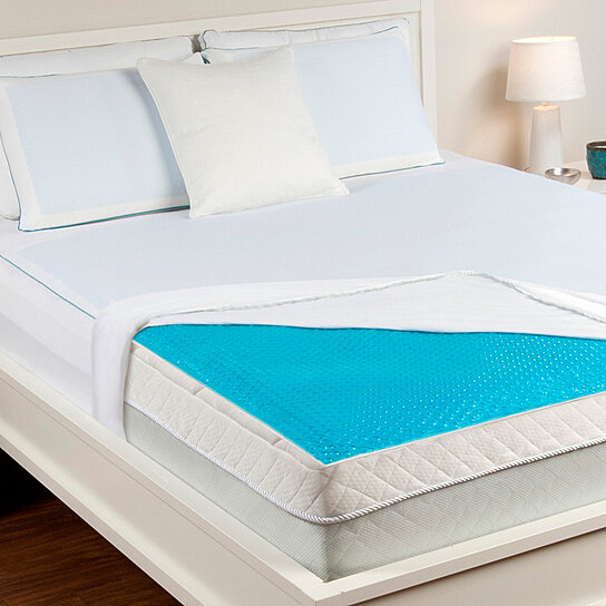 Hydraluxe Always Cool Gel Mattress Pad By Comfort Revolution On Opensky