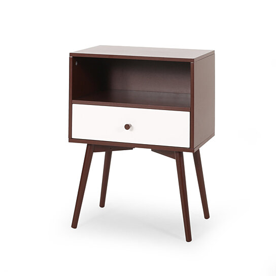 alexis mid century modern side table