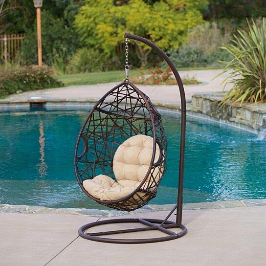 Buy Berkley Outdoor Swinging Egg Chair By Gdfstudio On Dot Bo