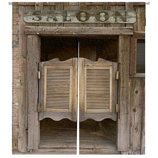 old western swinging saloon doors saloon sign japanese noren curtain doorway door window treatment curtains cotton linen curtain