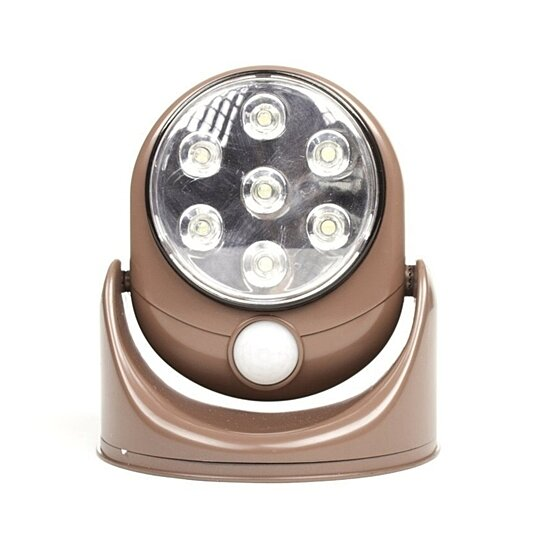 Buy Wireless Motion Sensor Lights Outdoor Patio LED Lights Security Floodlights Bronze By