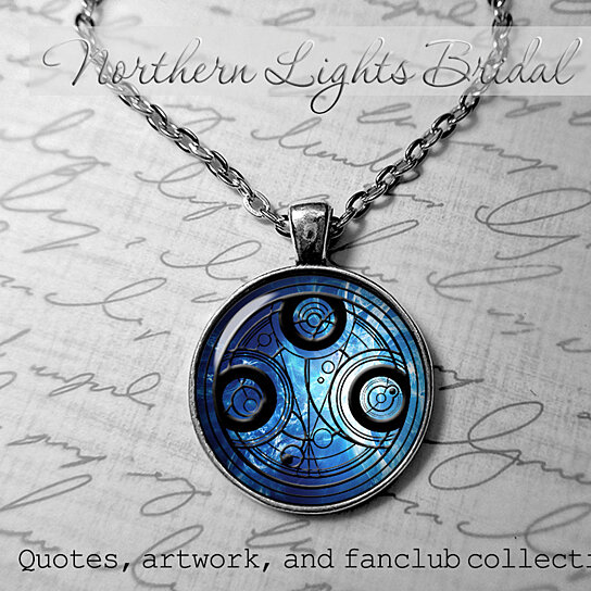 Buy Doctor Who TIme Lord Gallifreyan Symbol Necklace