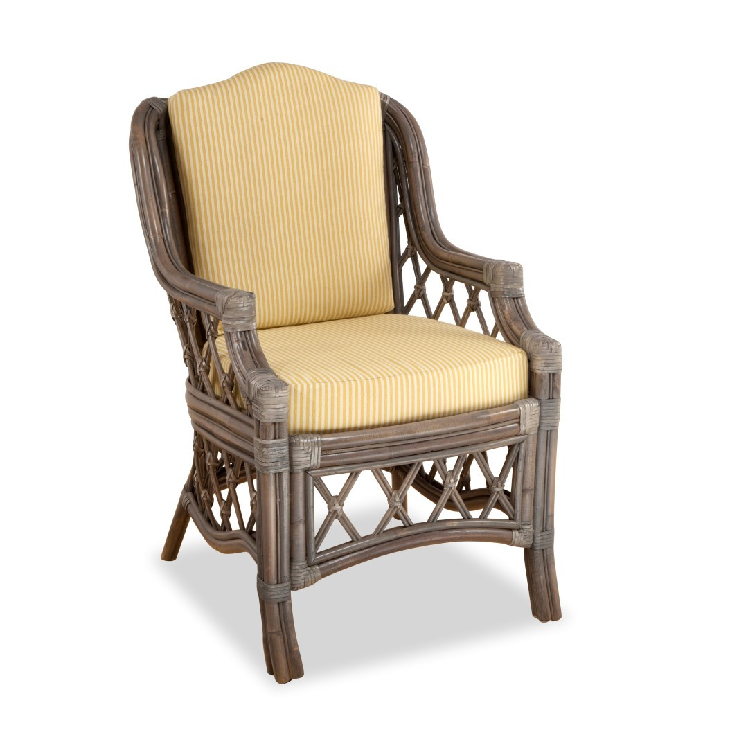 South Sea Rattan Nadine Indoor Dining Arm Chair