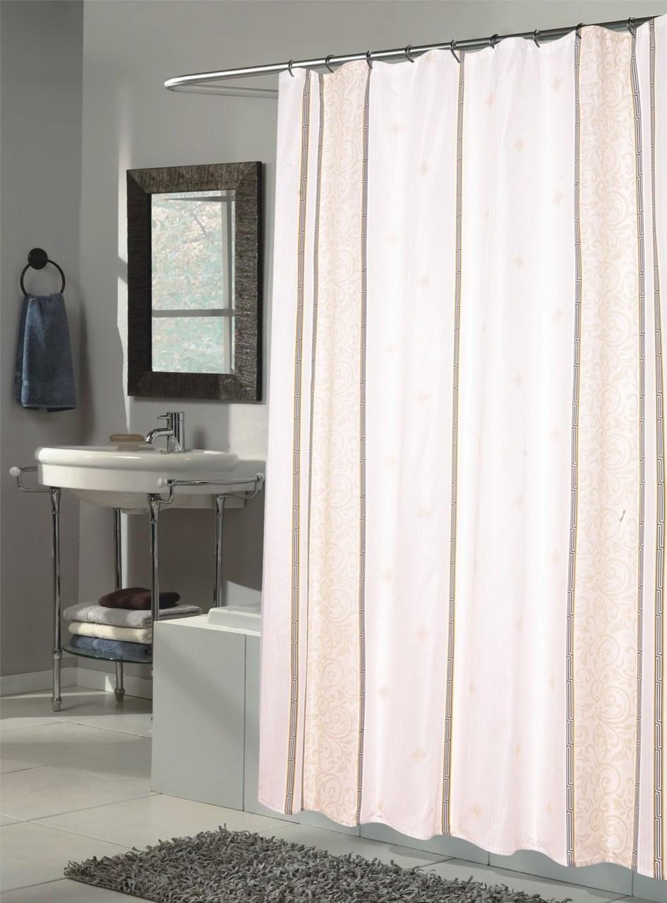 ashley extra long shower curtain