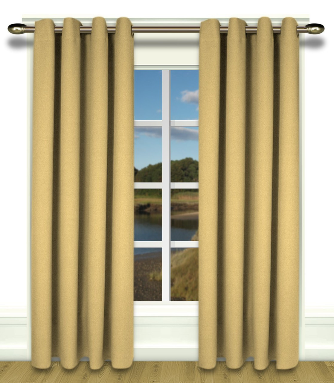 glasgow grommet top curtains available in 5 colors