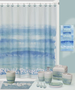 sylvan trees shower curtain and