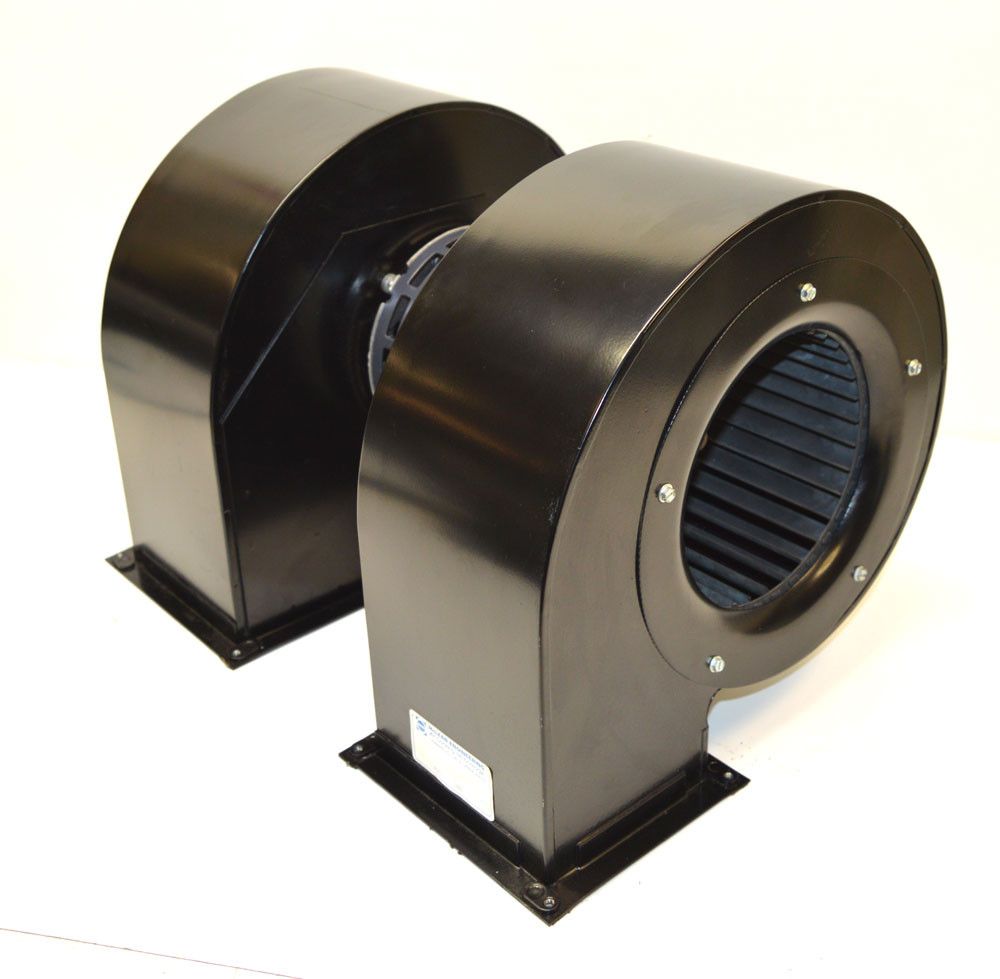 mclean 12 776825 00 b dual blower fan air cooling squirrel cage exhaust 1 2 hp