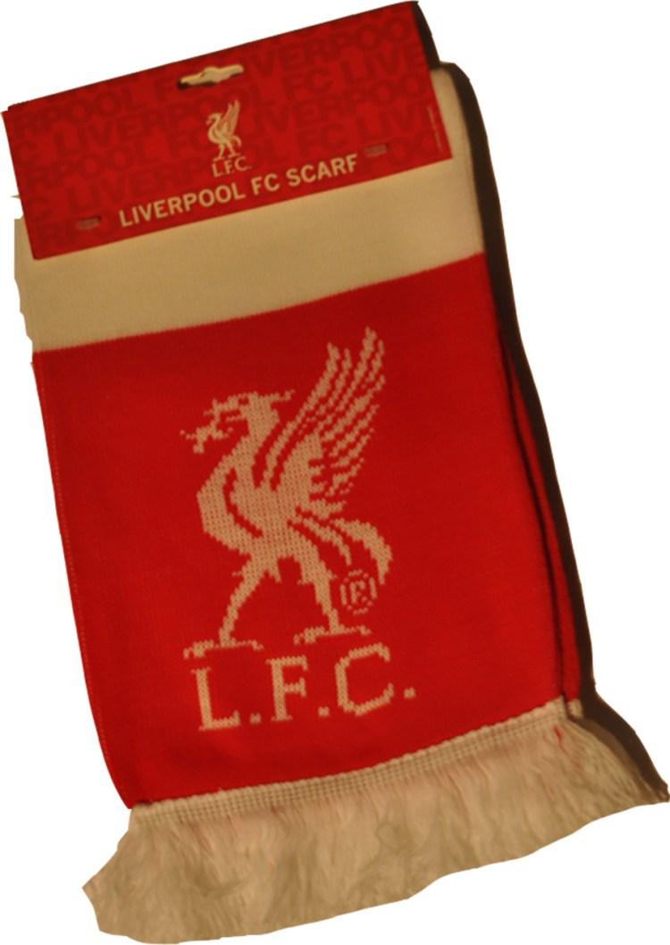 Liverpool FC Licensed Vintage BAr Scarf - Licensed Fan Scarf