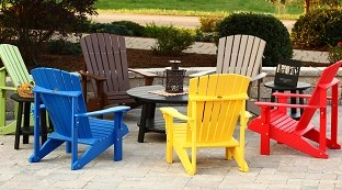 poly outdoor furniture wayside lawn