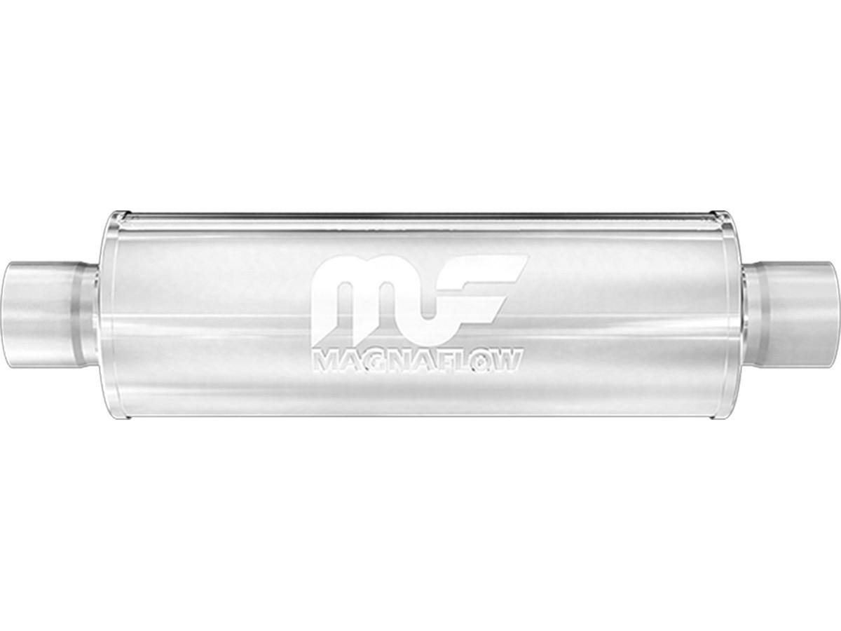 magnaflow 4 round muffler 3 exhaust