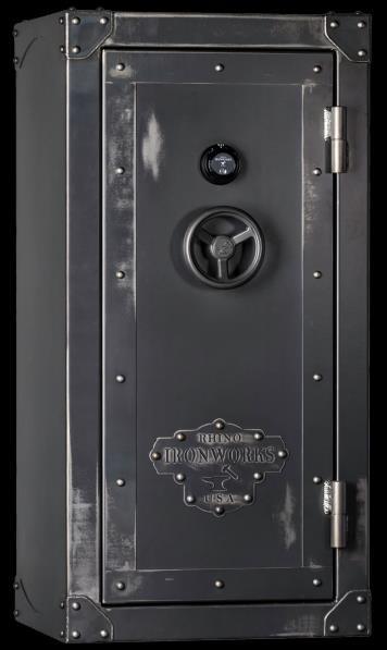 rhino metals ironworks usa series gun safes multiple options in store we do custom order