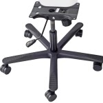 Heavy Duty Office Chair Base Kit Complete Under Seat Assembly Parts Rated 350 Lbs Echairparts Com